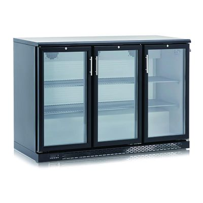Crystal CBM 350 Bar Tipi Buzdolabı, Üç Kapılı