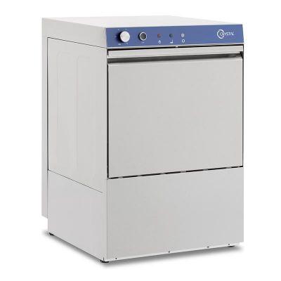 Crystal CRW 400 TPD Bardak Yıkama Makinesi, Drenaj + Parlatıcı + Deterjan Pompalı