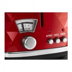 Delonghi CTJ2103 Briallante Ekmek Kızartma Makinesi, Kırmızı - Thumbnail