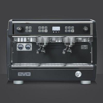 Dalla Corte Evo 2 Espresso Kahve Makinesi, 2 Gruplu, Blackboard