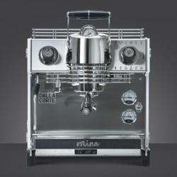 Dalla Corte Mina Espresso Kahve Makinesi, 1 Gruplu, Beyaz - Thumbnail