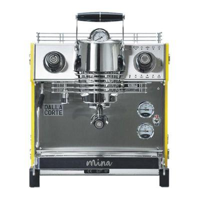 Dalla Corte Mina Espresso Kahve Makinesi, 1 Gruplu, Sarı