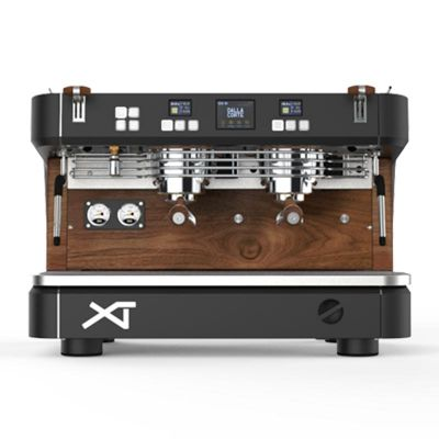 Dalla Corte XT Espresso Kahve Makinesi, 2 Gruplu, Koyu Ceviz