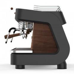 Dalla Corte XT Espresso Kahve Makinesi, 2 Gruplu, Koyu Ceviz - Thumbnail