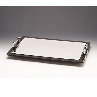 Zicco Dikdörtgen Teşhir Standı, Aynalı, Ayaklı, 60x40 cm
