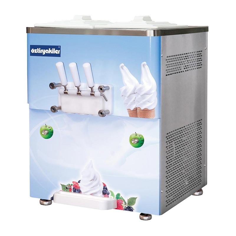 öztiryakiler Oef2500 Set üstü Dondurma Makinesi 3 Kollu 2x8 L Fiyatı