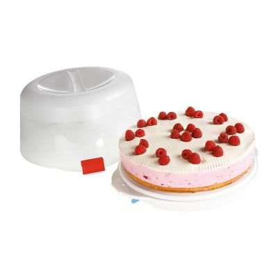 Dr. Oetker - Dr. Oetker 1013 Pişir Götür Kek Taşıma Kabı, 38.5 cm (1)