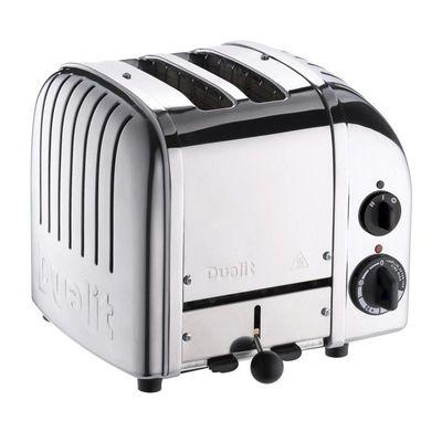 Dualit - Dualit 27030 Classic Ekmek Kızartma Makinesi, 2 Hazneli, El Yapımı, 1200 W, Çelik (1)