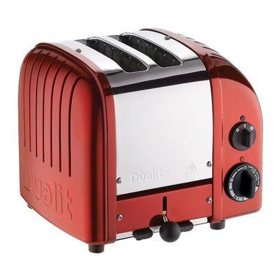 Dualit - Dualit 27031 Classic Ekmek Kızartma Makinesi, 2 Hazneli, El Yapımı, Kırmızı (1)