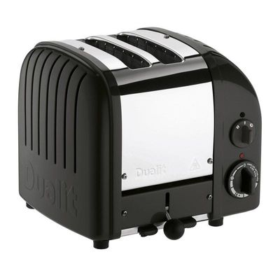 Dualit - Dualit 27035 Classic Ekmek Kızartma Makinesi, 2 Hazneli, El Yapımı, Siyah (1)