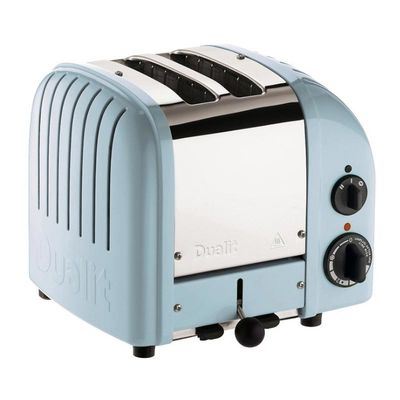 Dualit - Dualit 27036 Classic Ekmek Kızartma Makinesi, 2 Hazneli, El Yapımı, Buzul Mavi (1)