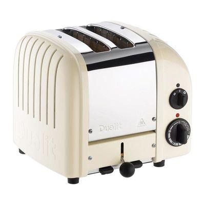 Dualit - Dualit 27045 Classic Ekmek Kızartma Makinesi, 2 Hazneli, El Yapımı, Kanvas (1)