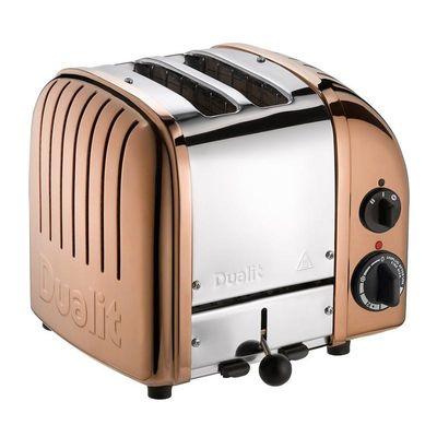 Dualit - Dualit 27390 Classic Ekmek Kızartma Makinesi, 2 Hazneli, El Yapımı, Bakır (1)