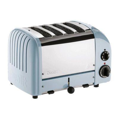 Dualit - Dualit 47036 Classic Ekmek Kızartma Makinesi, 4 Hazneli, El Yapımı, Buzul Mavi (1)