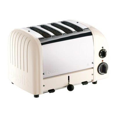 Dualit - Dualit 47045 Classic Ekmek Kızartma Makinesi, 4 Hazneli, El Yapımı, Kanvas (1)