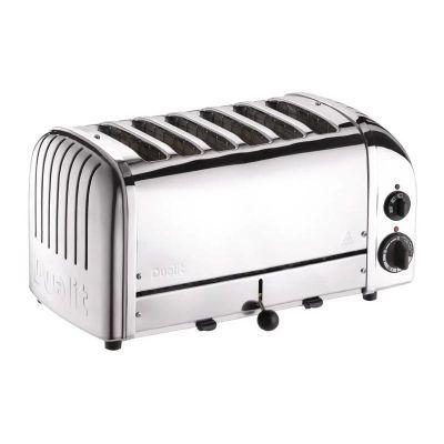 Dualit 60165 Classic Ekmek Kızartma Makinesi, 6 Hazneli