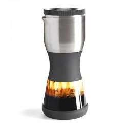 FellowProducts Duo Coffee Steeper Nitelikli Kahve Demleyici, Manuel, Gri - Thumbnail