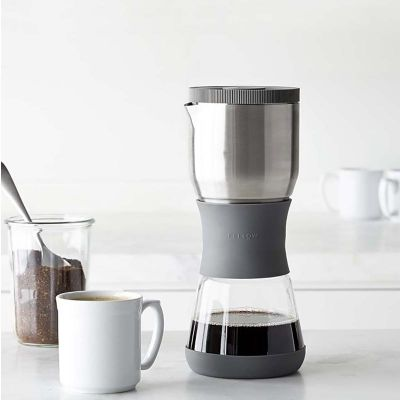 FellowProducts - FellowProducts Duo Coffee Steeper Nitelikli Kahve Demleyici, Manuel, Gri (1)