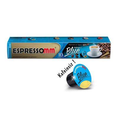Espressomm - Espressomm Blue Kapsül Kahve, Kafeinsiz, Nespresso Uyumlu (1)