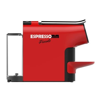 Espressomm - Espressomm Piccolo Kapsül Kahve Makinesi, Nespresso Uyumlu, Kırmızı (1)