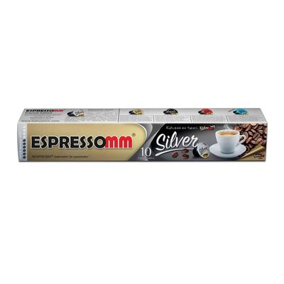 Espressomm Silver Kapsül Kahve, Nespresso Uyumlu