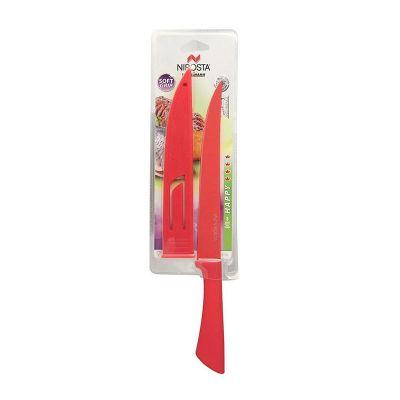 Fackelmann - Fackelmann Nirosta Renkli Dilimleme Bıçağı, 20,5 cm (1)