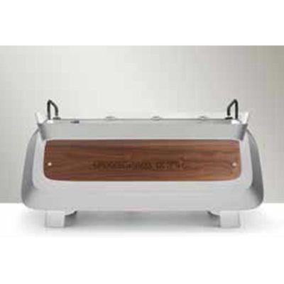 Faema - Faema E71E Espresso Kahve Makinesi, Full Otomatik, 2 Gruplu, Beyaz-Gümüş-Ahşap (1)