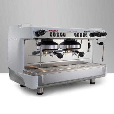 Faema - Faema E98 Up Tall Cup Espresso Kahve Makinesi, Full Otomatik, 2 Gruplu, Beyaz (1)