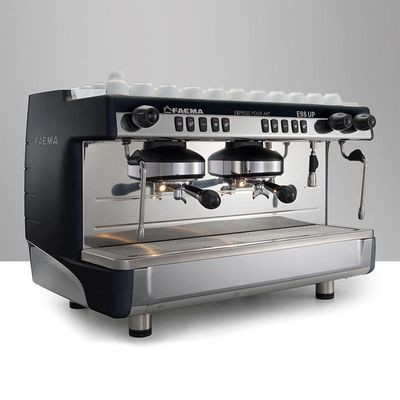 Faema - Faema E98 Up Tall Cup Espresso Kahve Makinesi, Full Otomatik, 2 Gruplu, Siyah (1)