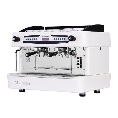 Fiamma - Fiamma Quadrant 2 DSP TC Espresso Kahve Makinesi, 2 Gruplu, Beyaz (1)
