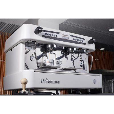 Fiamma Quadrant 2 DSP TC Espresso Kahve Makinesi, 2 Gruplu, Beyaz