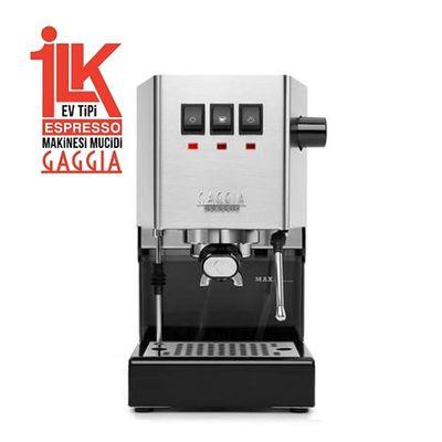 Gaggia - Gaggia RI9480/11 New Classic Pro 2019 Espresso Kahve Makinesi, Metalik (1)