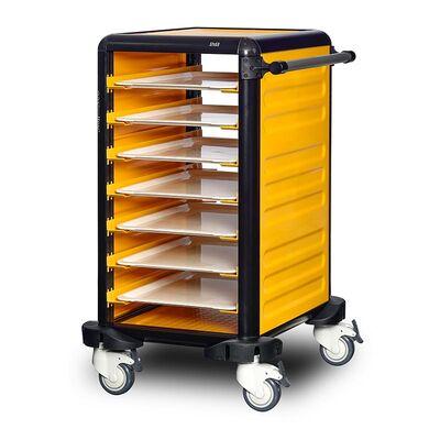 Gastrolley - Gastrolley 75 Tekli Servis Tepsi Arabası, 2 Yanı Kapalı, 57x71x99 cm (1)