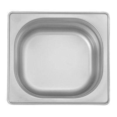 Öztiryakiler Gastronorm Küvet, Standart, GN 1/6, 17.6x16.2x6.5 cm