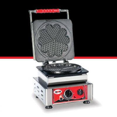 GMG WE 01 Amore L Yonca Model Waffle Makinesi, Değişebilir Plaka