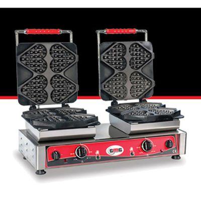 GMG WE 24 Ti Amo Kalp Model Waffle Makinesi, Değişebilir Plaka
