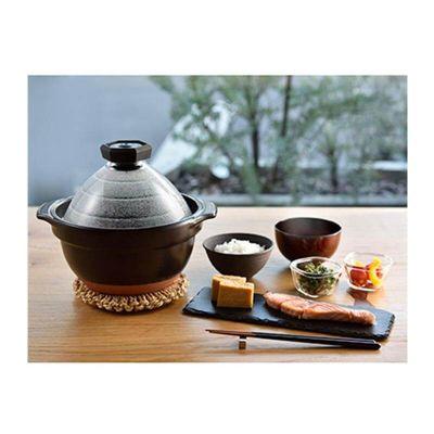 Hario - Hario Gohangama Seramik Pirinç Pişirme Tenceresi (1)
