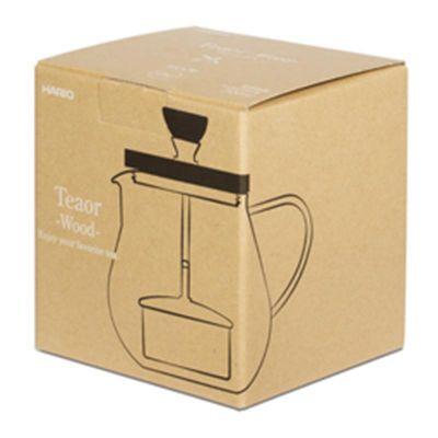 Hario Pull Up Tea Maker, Teaor Wood, 700 ml