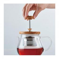 Hario Pull Up Tea Maker, Teaor Wood, 700 ml - Thumbnail