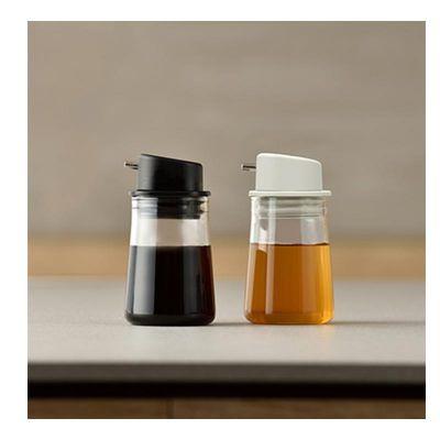 Hario - Hario Simple Soya Sos Şişesi, 80 ml, Siyah (1)