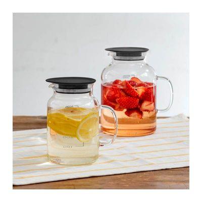 Hario - Hario Vinegar's Serisi Fruit Pot Meyve Suyu Sürahisi, 500 ml (1)