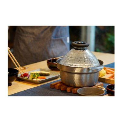 Hario - Hario Yukihira Paslanmaz Çelik Pirinç Pişirme Tenceresi (1)