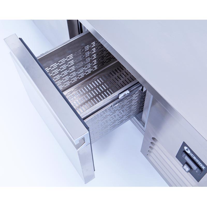 CTS 330 Tezgah Tip GN Buzdolabı, 2 Kapılı