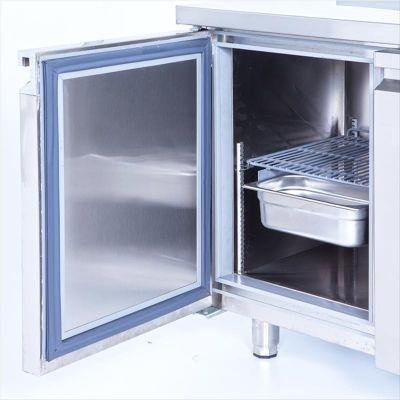 Iceinox CTS 440 CR Tezgah Tip Snack Buzdolabı, 3 Kapılı