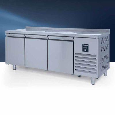 Iceinox CTS 440 N CR Tezgah Tip GN Derin Dondurucu, 3 Kapılı