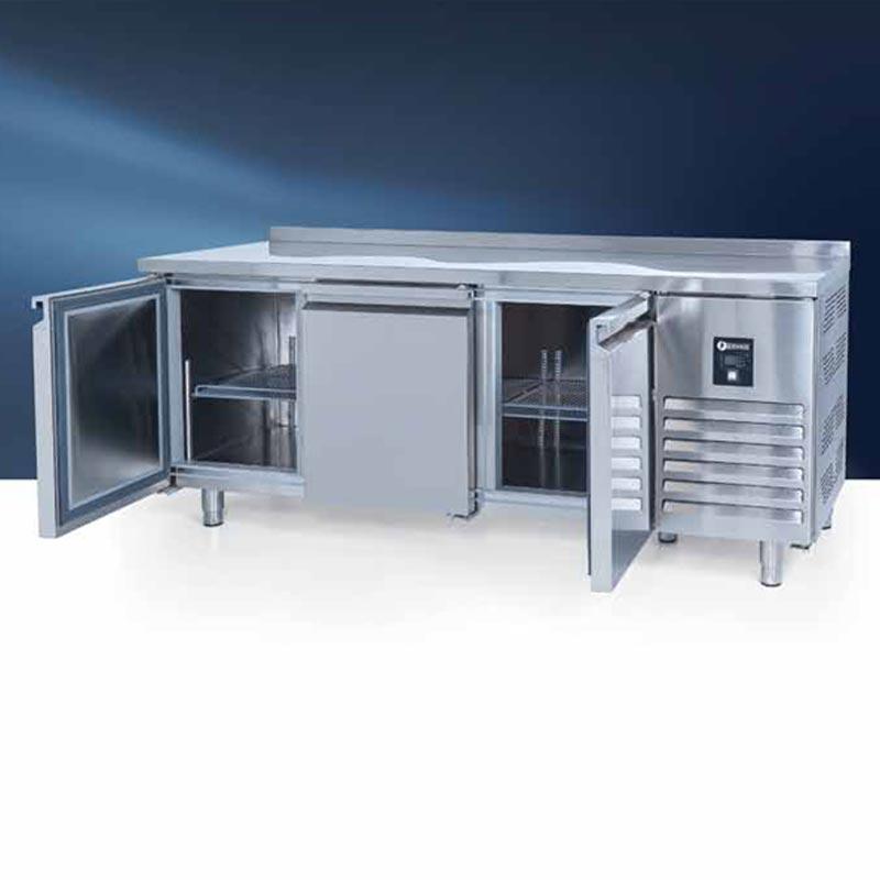 CTS 515 CR Tezgah Tip GN Buzdolabı, 3 Kapılı