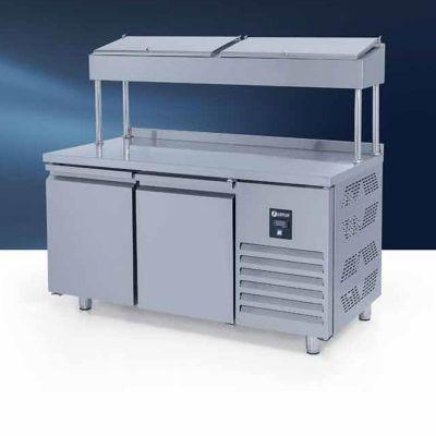 Iceinox PTS 275 CR Make Up Snack Buzdolabı, Yüksek, 2 Kapılı