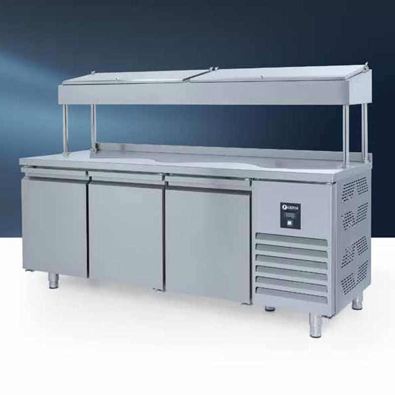 PTS 440 CR Make Up Snack Buzdolabı, Yüksek, 3 Kapılı