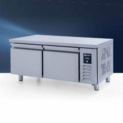 Iceinox UTS 220 N CR Pişirici Altı Derin Dondurucu, 2 Kapılı