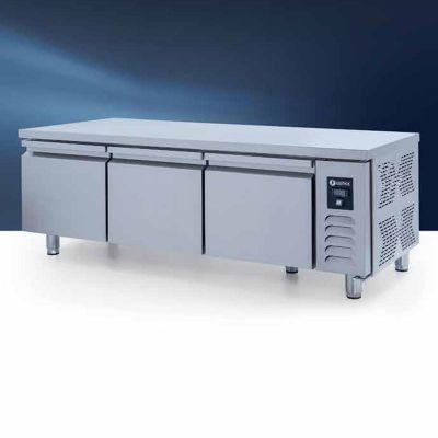 Iceinox UTS 280 CR Pişirici Altı Buzdolabı, 3 Kapılı